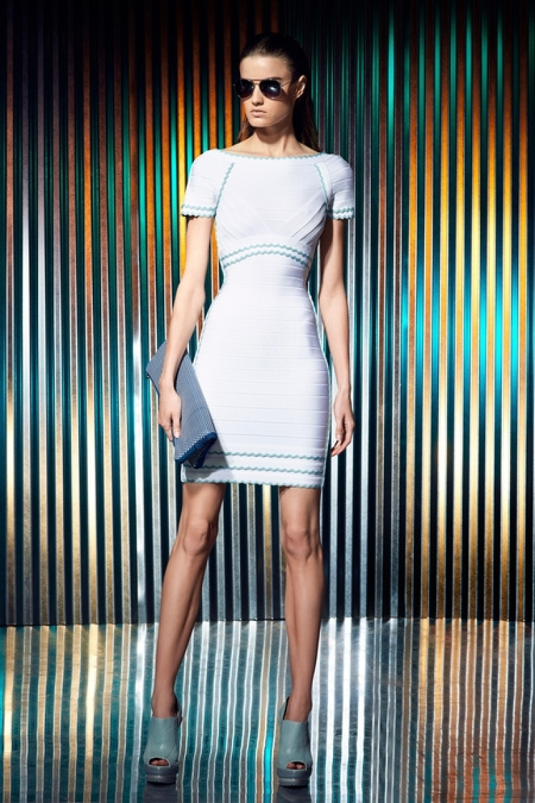 Herve Leger by Max Azria Resort 2014 #24
