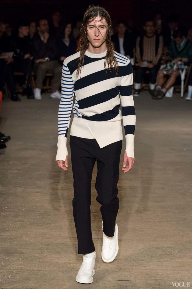 Alexander McQueen Menswear весна-лето 2016 #21