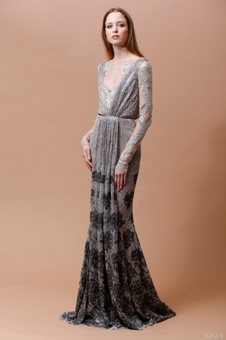 Badgley Mischka Couture весна-лето 2013 #3