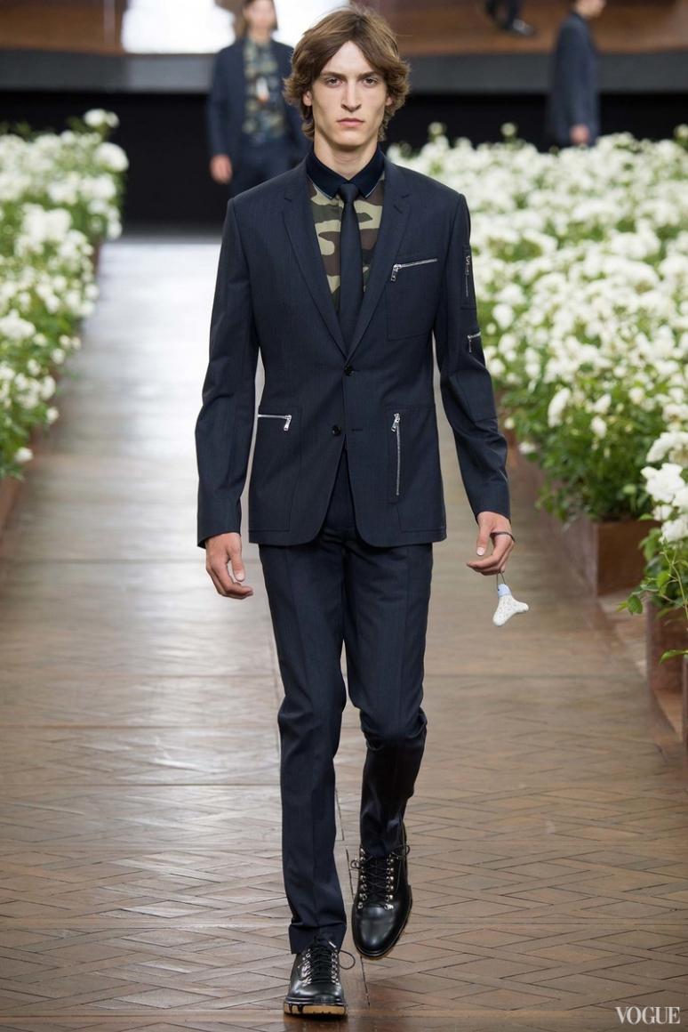 Dior Homme Menswear весна-лето 2016 #43