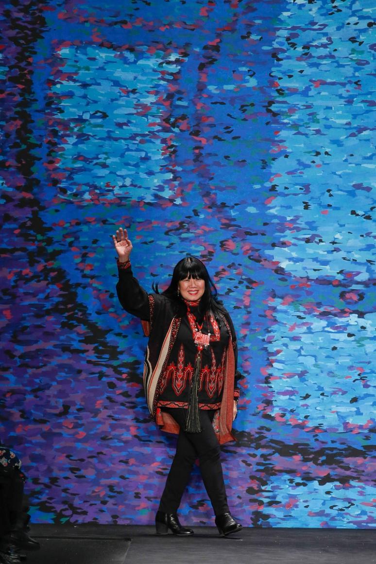 Anna Sui осень-зима 2015/2016 #1