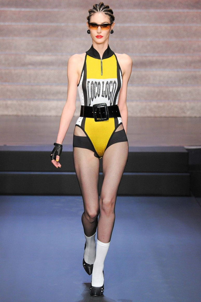 Jean Paul Gaultier весна-лето 2015 #54