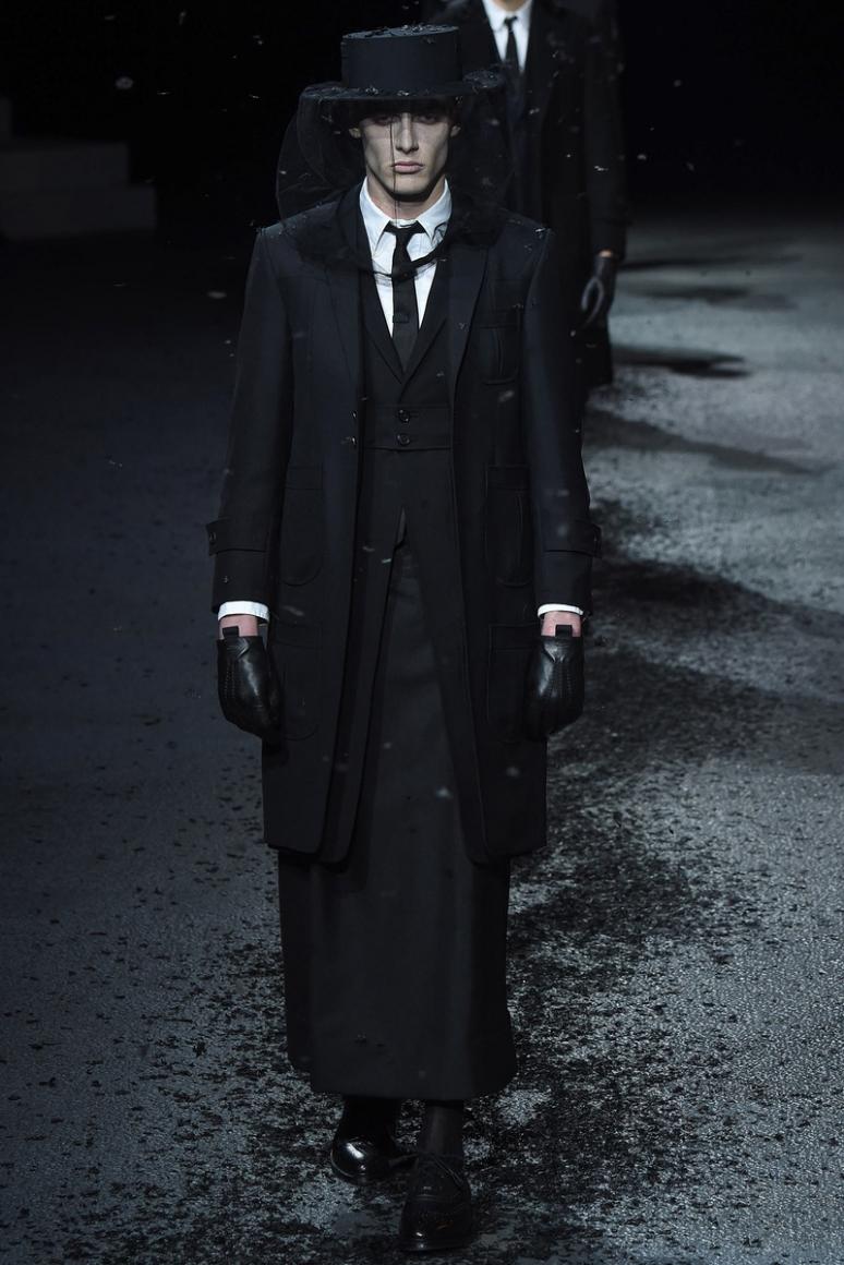 Thom Browne Menswear осень-зима 2015/2016 #12