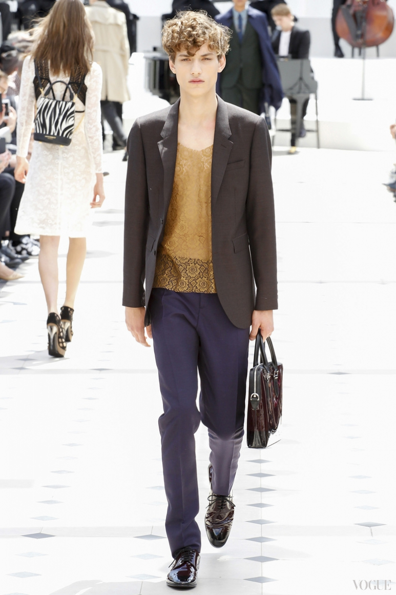 Burberry Prorsum Menswear весна-лето 2016 #51