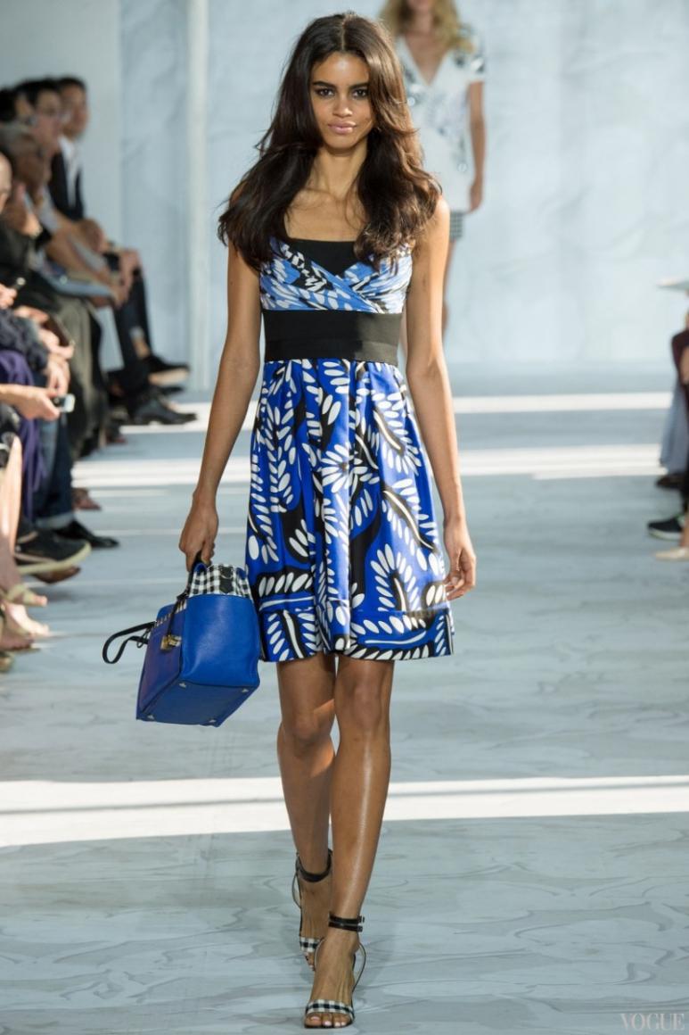 Diane Von Furstenberg весна-лето 2015 #16