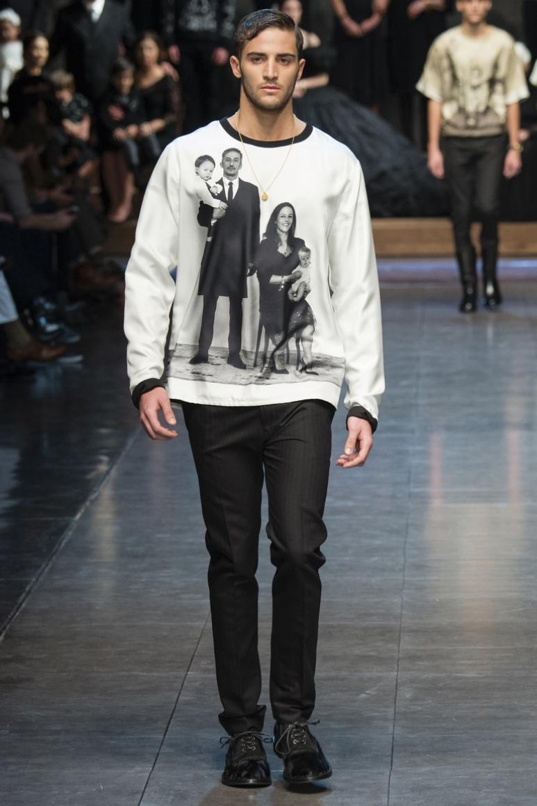 Dolce & Gabbana Menswear осень-зима 2015/2016 #84