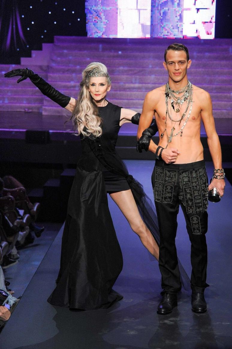 Jean Paul Gaultier весна-лето 2015 #30