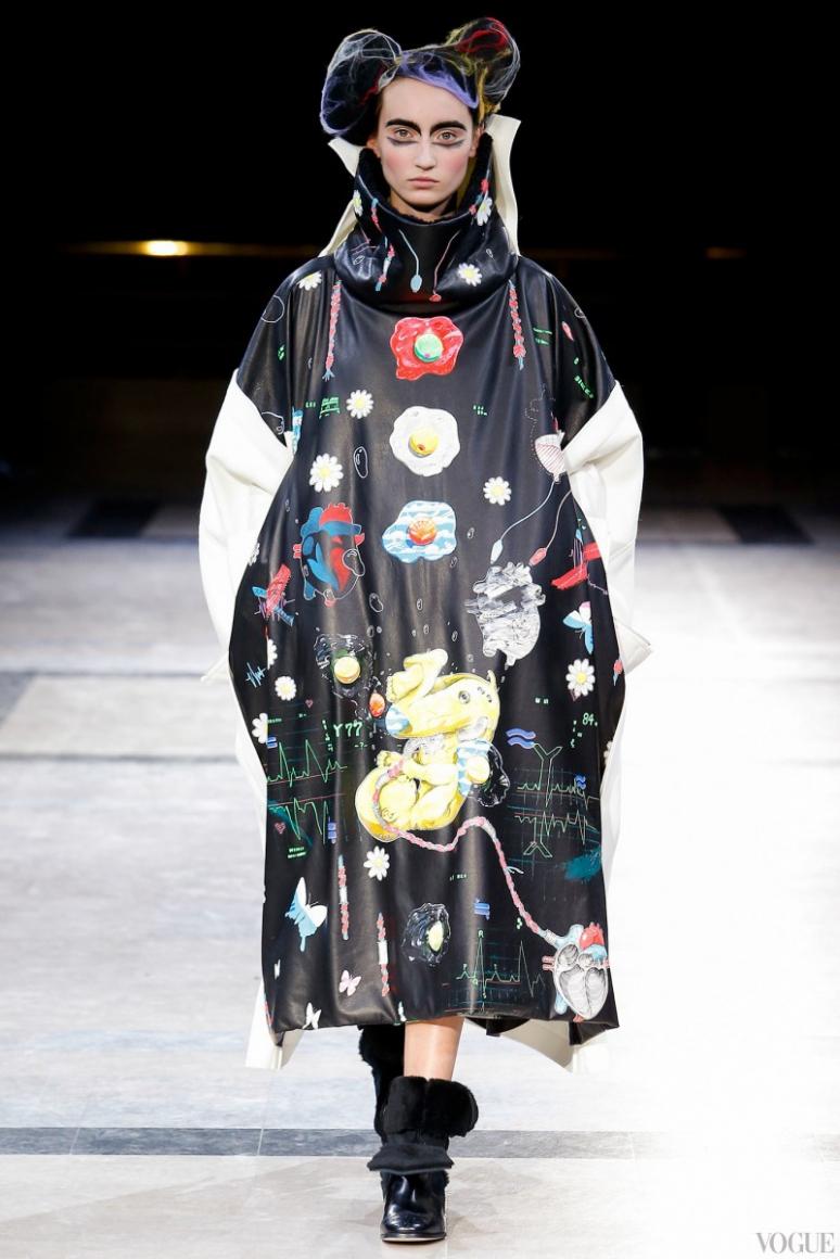 Yohji Yamamoto осень-зима 2014/2015 #2