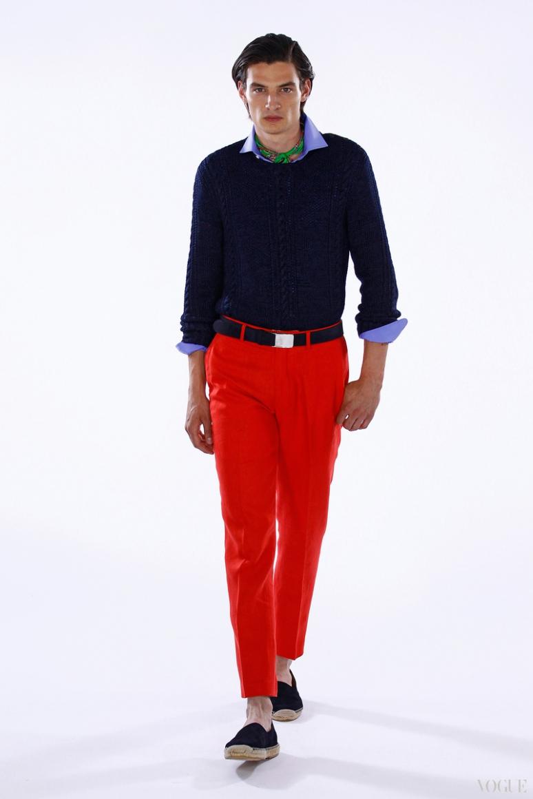 Ralph Lauren Menswear весна-лето 2016 #20