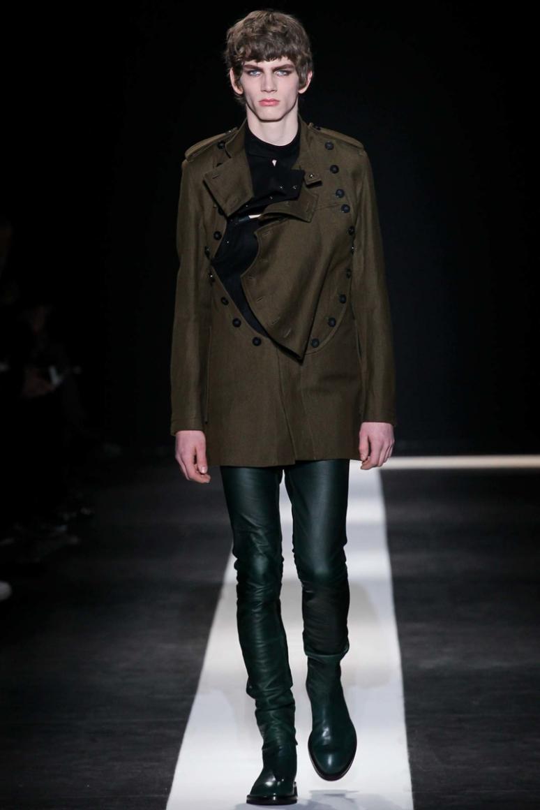 Ann Demeulemeester Menswear осень-зима 2015/2016 #21
