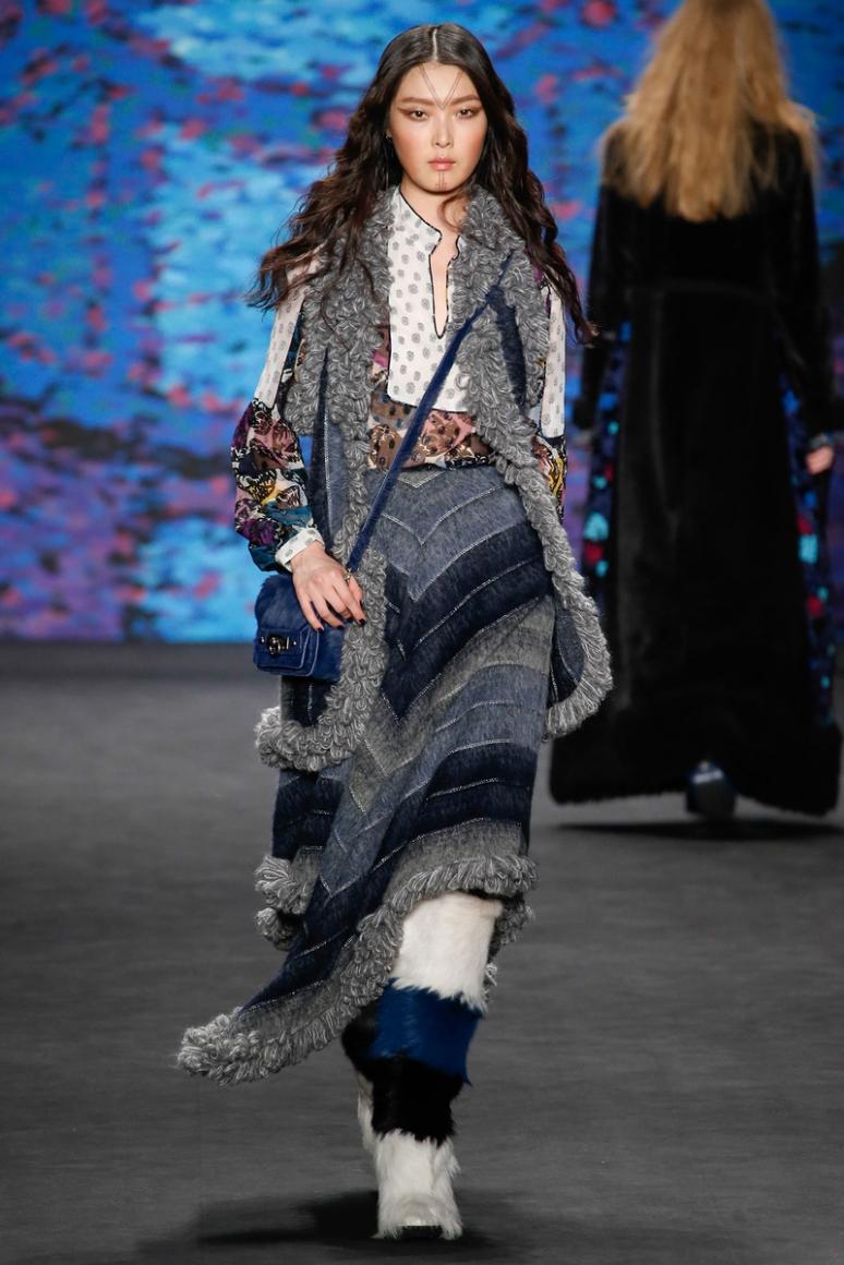Anna Sui осень-зима 2015/2016 #22
