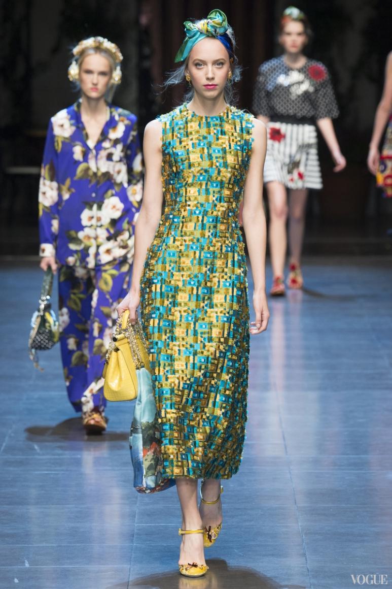 Dolce & Gabbana весна-лето 2016 #52