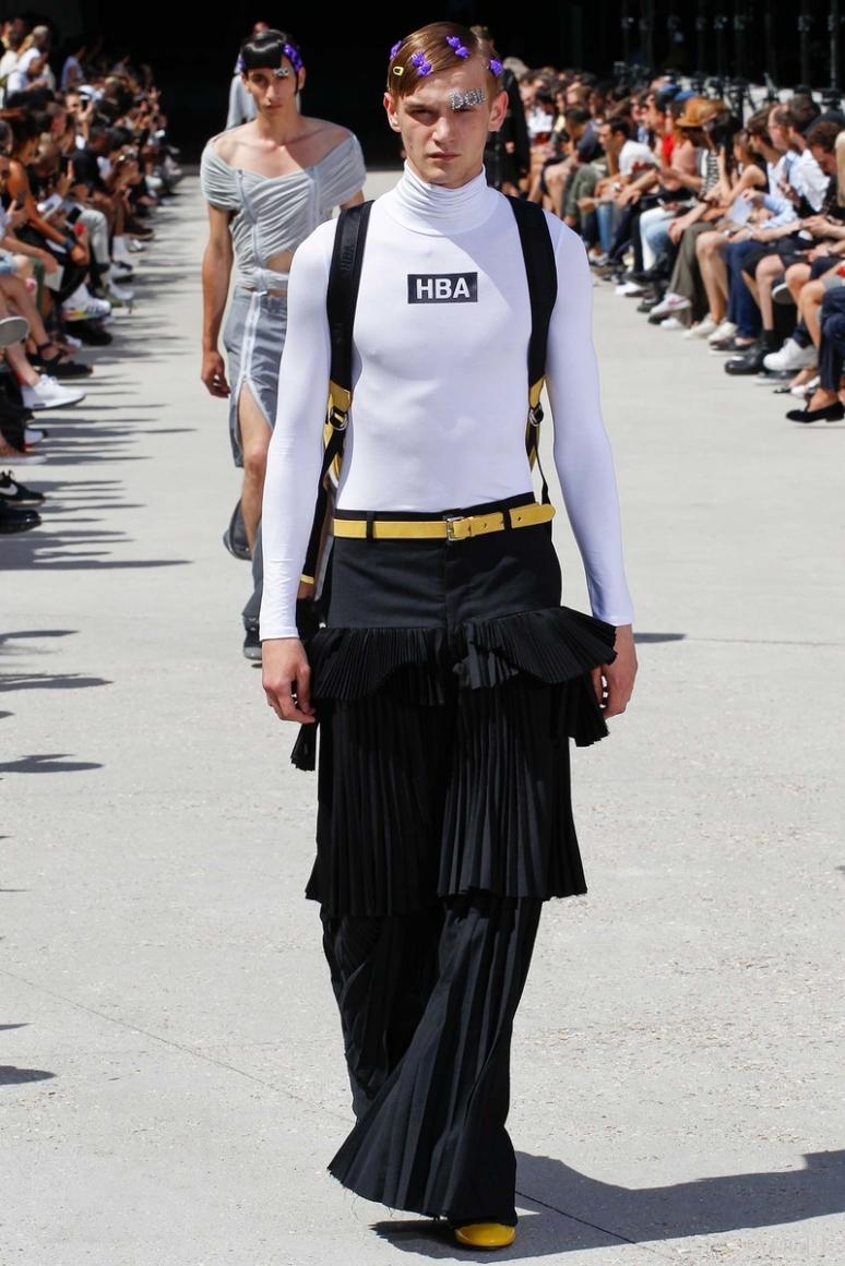 Hood by Air Menswear весна-лето 2016 #20