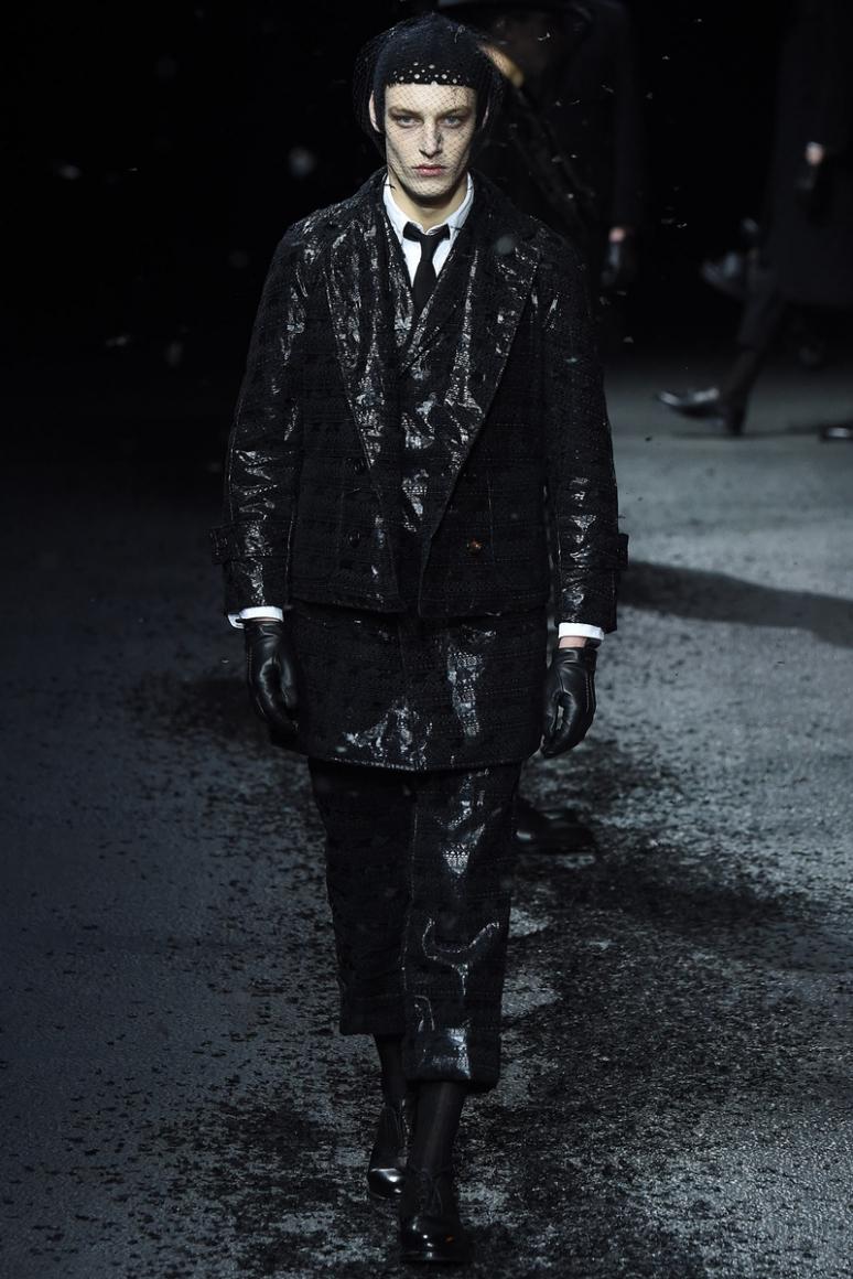 Thom Browne Menswear осень-зима 2015/2016 #6