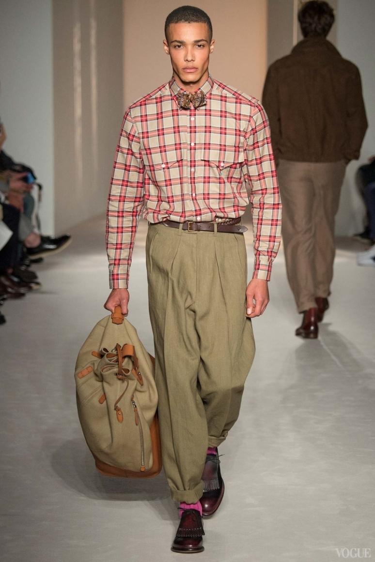 Dunhill Menswear весна-лето 2016 #12