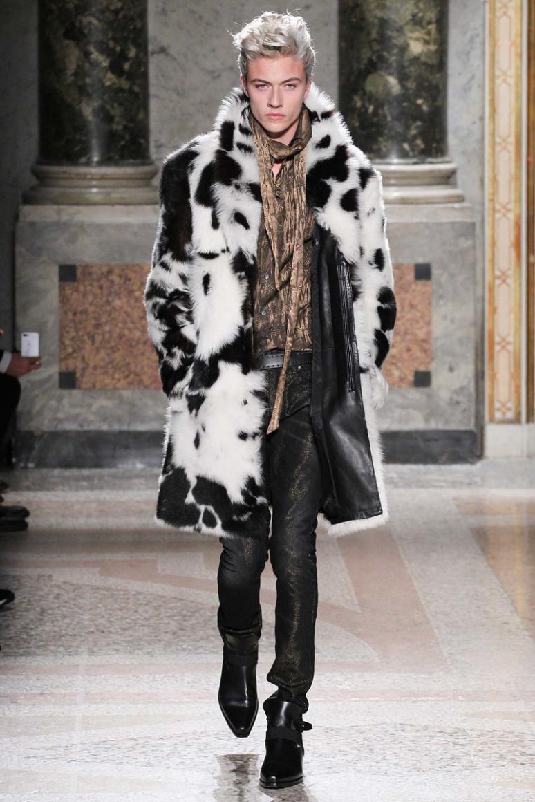 Roberto Cavalli Menswear осень-зима 2015/2016 #19