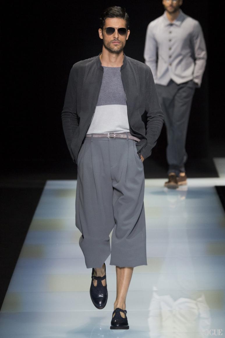 Giorgio Armani Menswear весна-лето 2016 #41