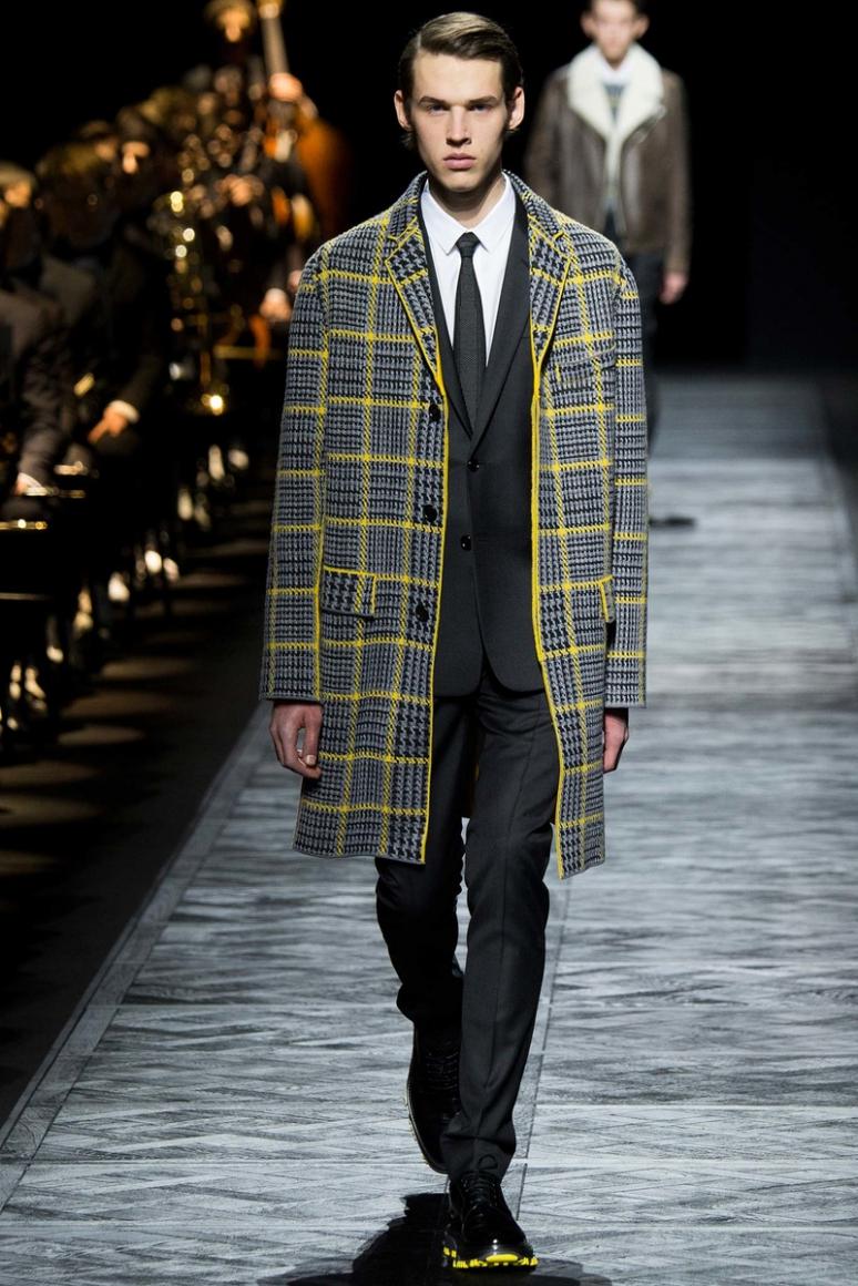 Dior Homme Menswear осень-зима 2015/2016 #15