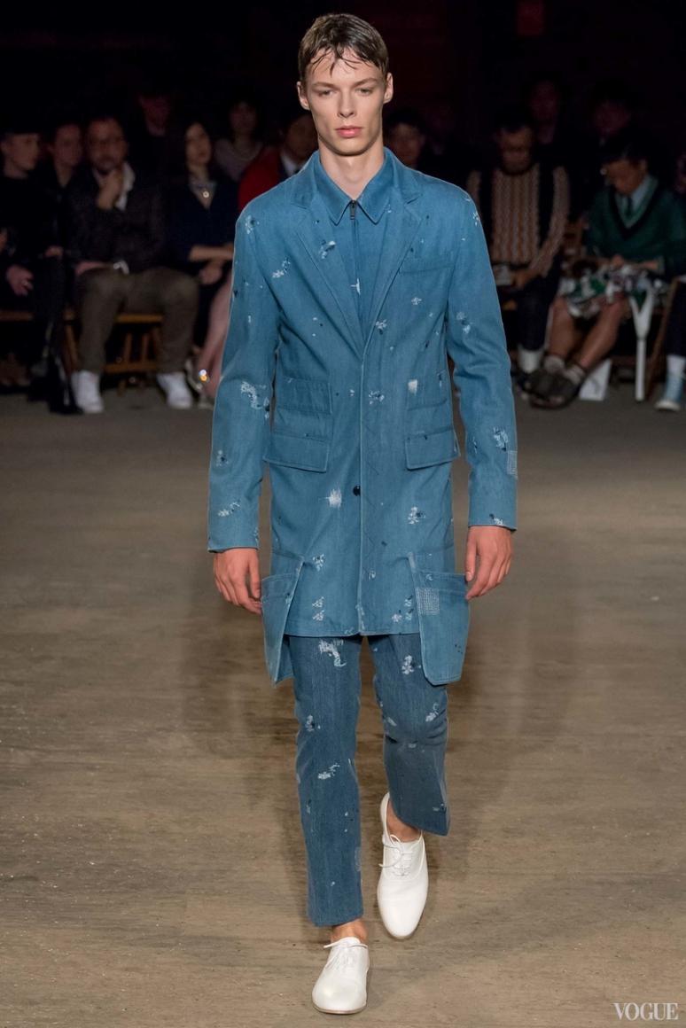 Alexander McQueen Menswear весна-лето 2016 #5