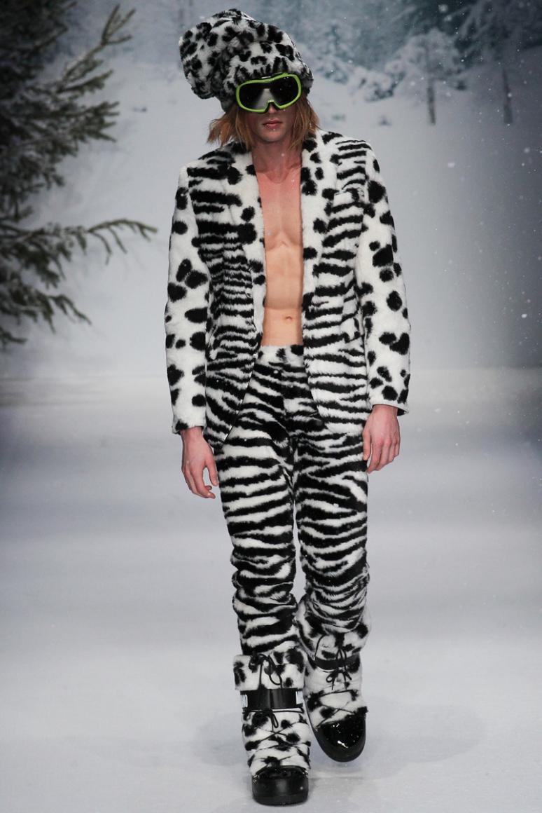 Moschino Menswear осень-зима 2015/2016 #43