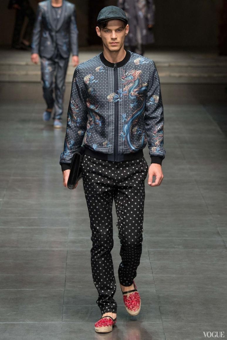 Dolce & Gabbana Menswear весна-лето 2016 #90