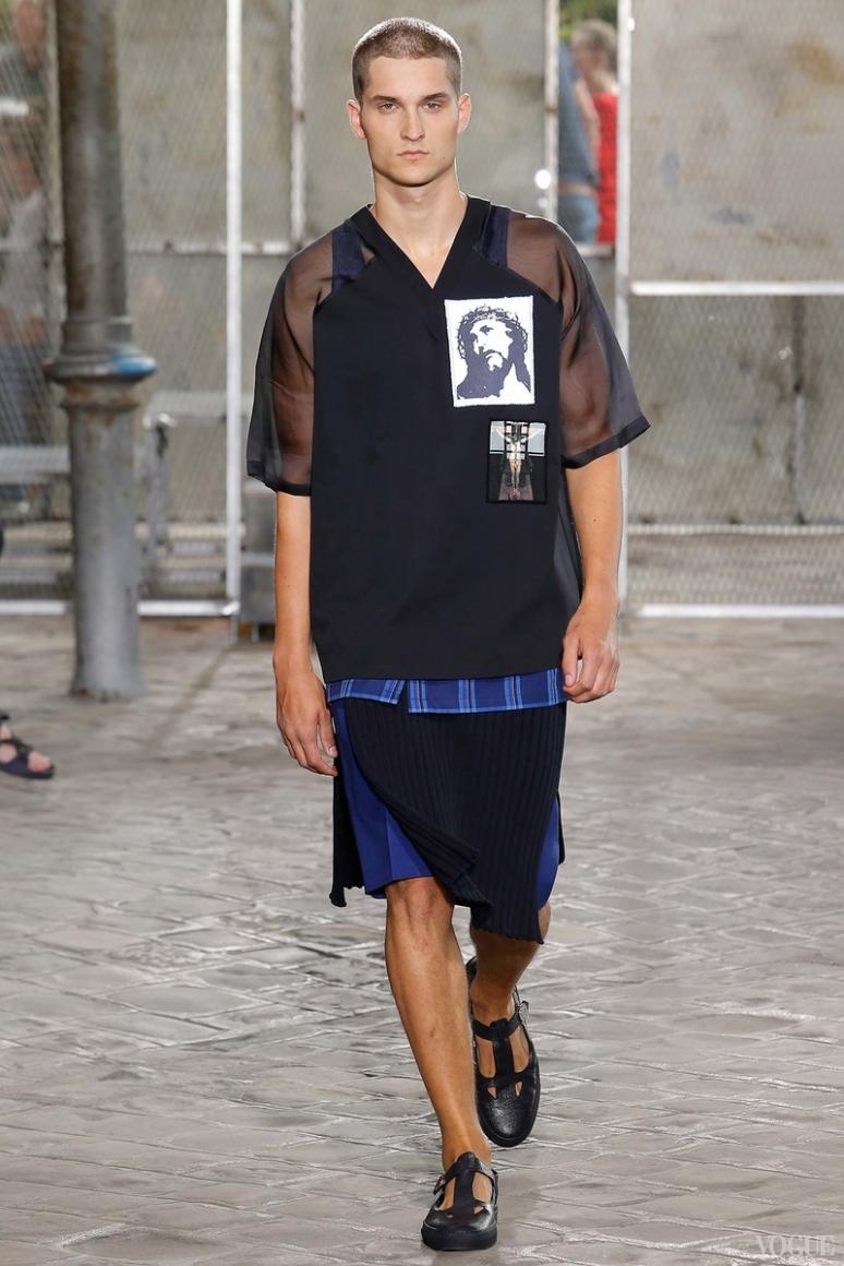 Givenchy Menswear весна-лето 2016 #41