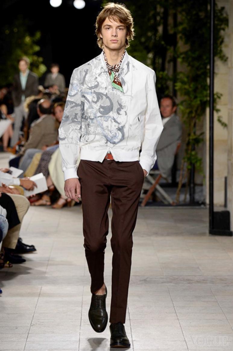 Hermes Menswear весна-лето 2016 #45
