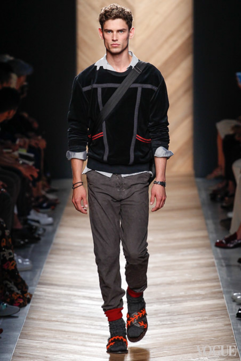 Bottega Veneta Menswear весна-лето 2016 #44