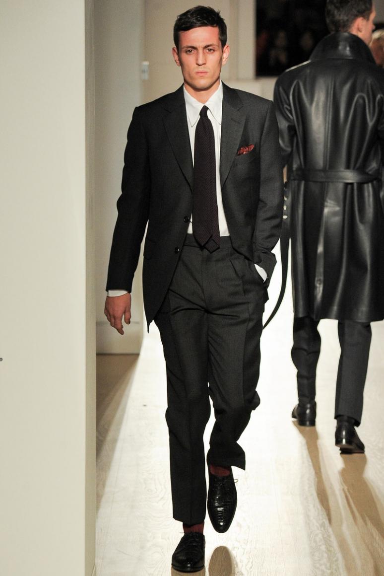 Dunhill Menswear осень-зима 2015/2016 #3