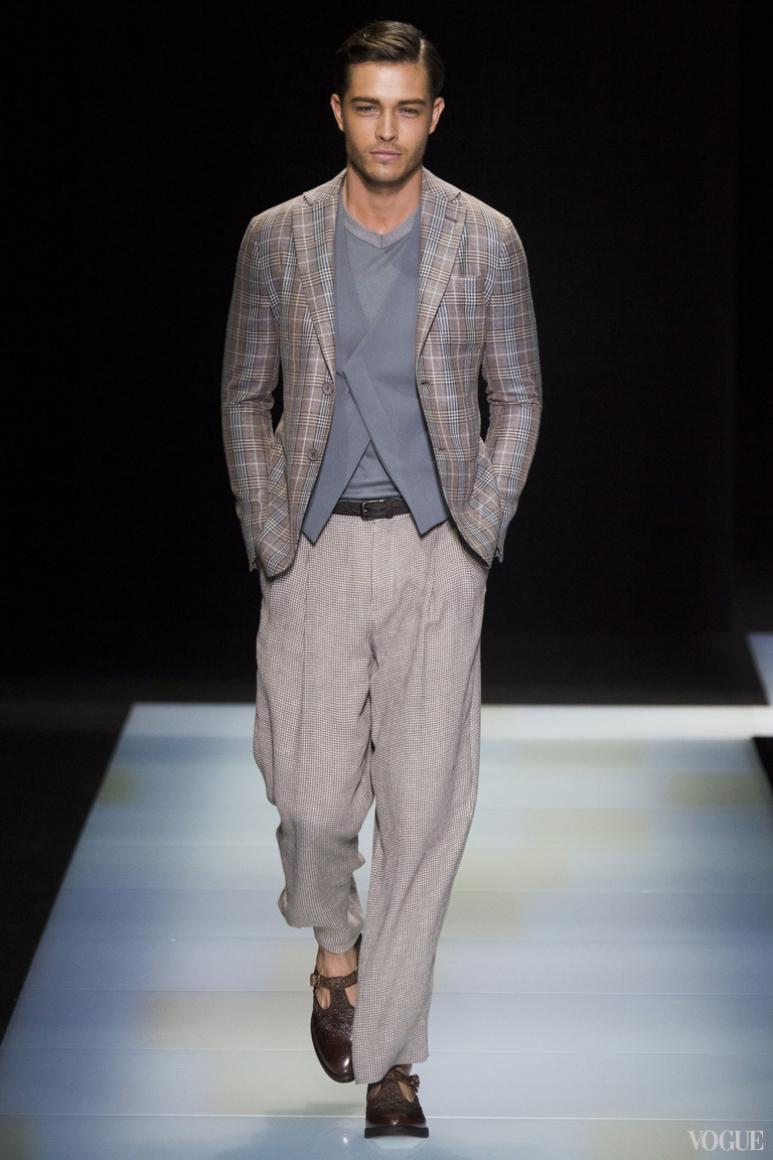 Giorgio Armani Menswear весна-лето 2016 #73
