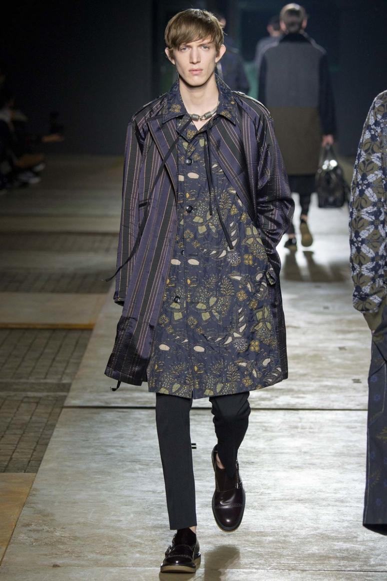 Dries van Noten Menswear осень-зима 2015/2016 #41