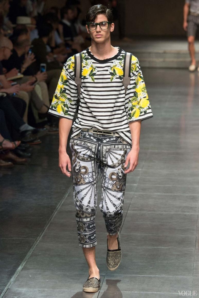 Dolce & Gabbana Menswear весна-лето 2016 #29