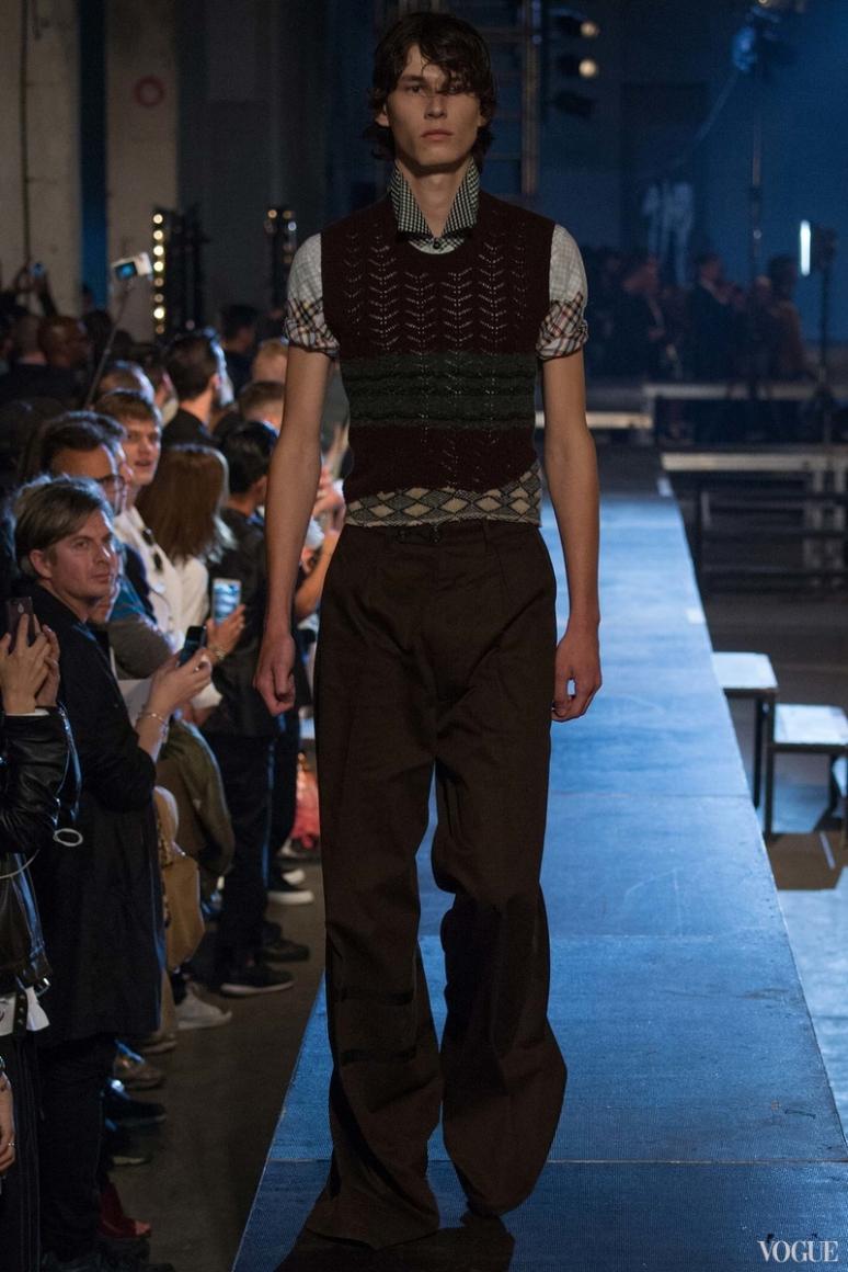 Raf Simons Menswear весна-лето 2016 #32