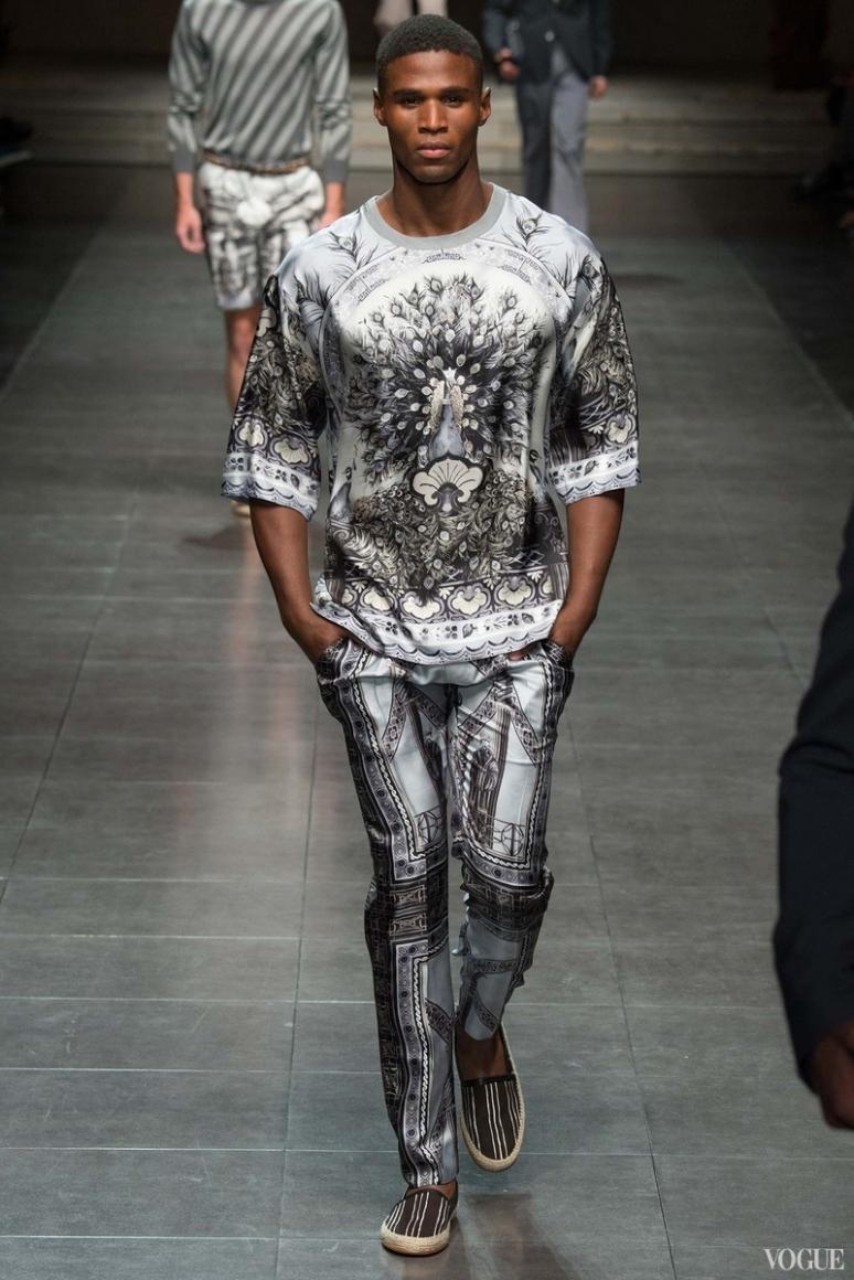 Dolce & Gabbana Menswear весна-лето 2016 #78