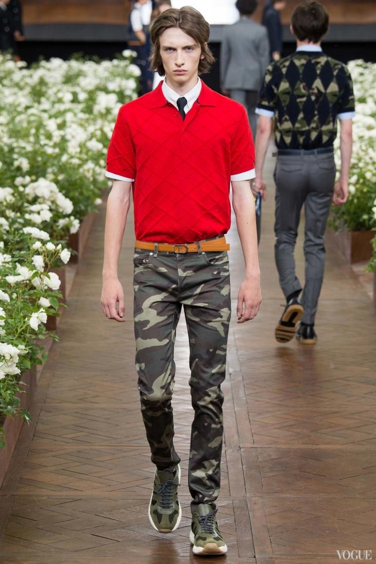 Dior Homme Menswear весна-лето 2016 #33