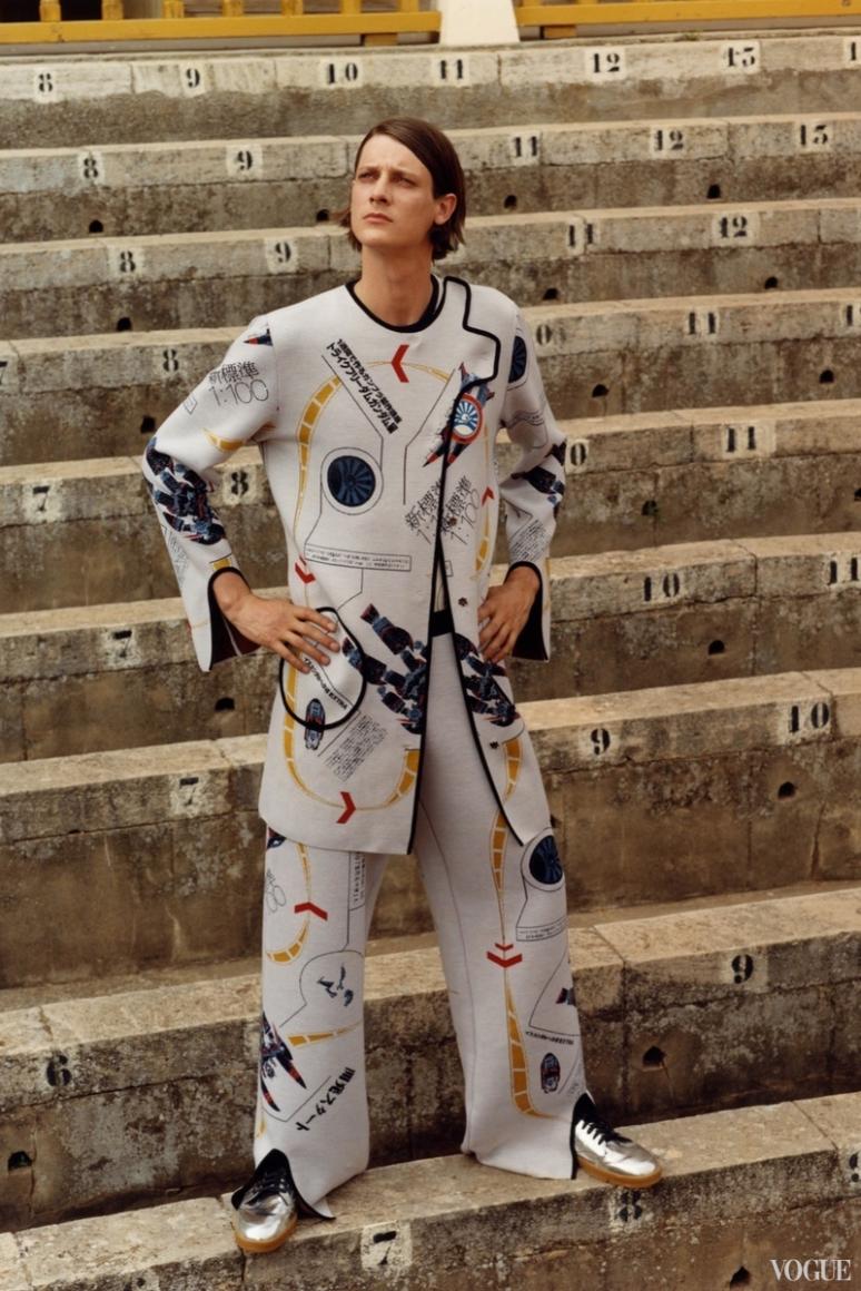 Loewe Menswear весна-лето 2016 #13