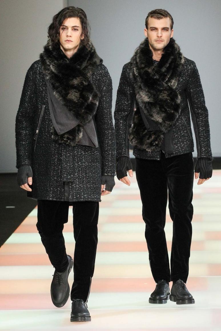 Emporio Armani Menswear осень-зима 2015/2016 #27