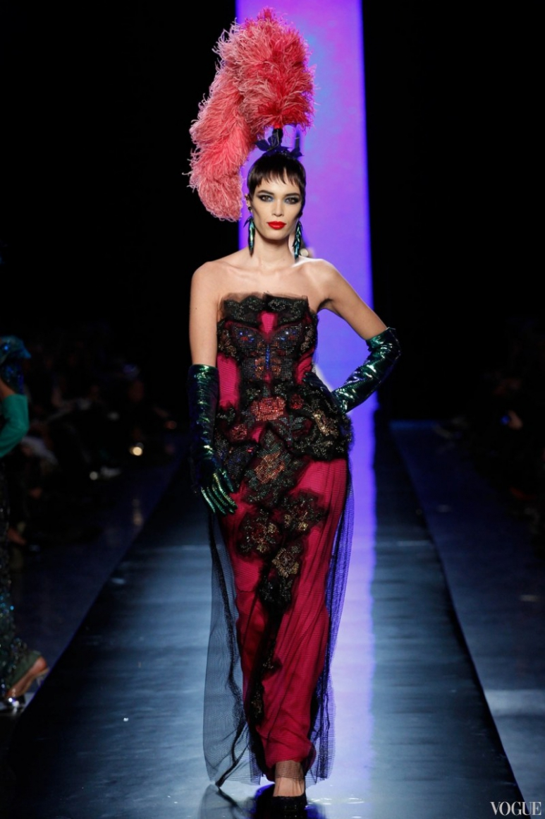 Jean Paul Gaultier Couture весна-лето 2014 #9