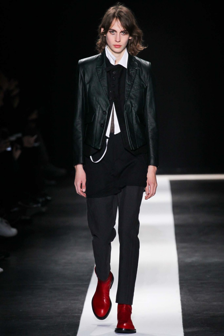 Ann Demeulemeester Menswear осень-зима 2015/2016 #9