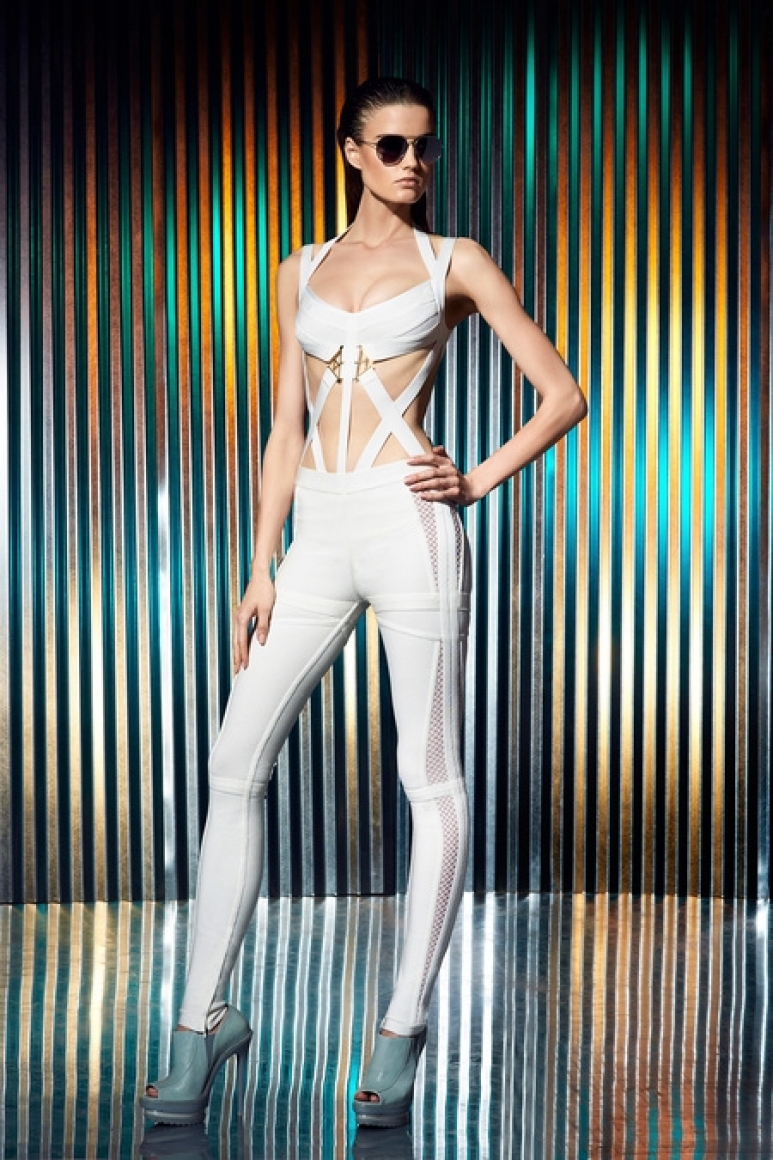 Herve Leger by Max Azria Resort 2014 #5