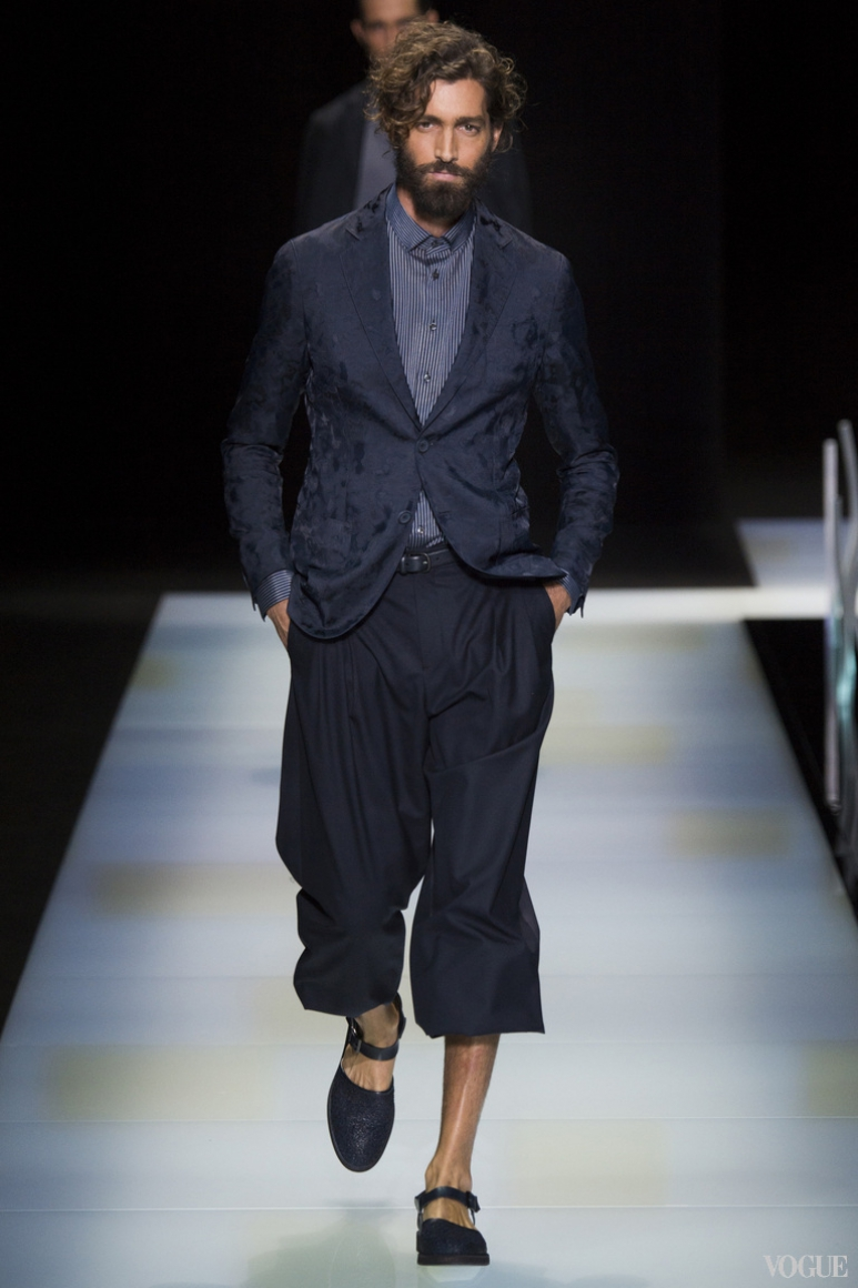 Giorgio Armani Menswear весна-лето 2016 #14