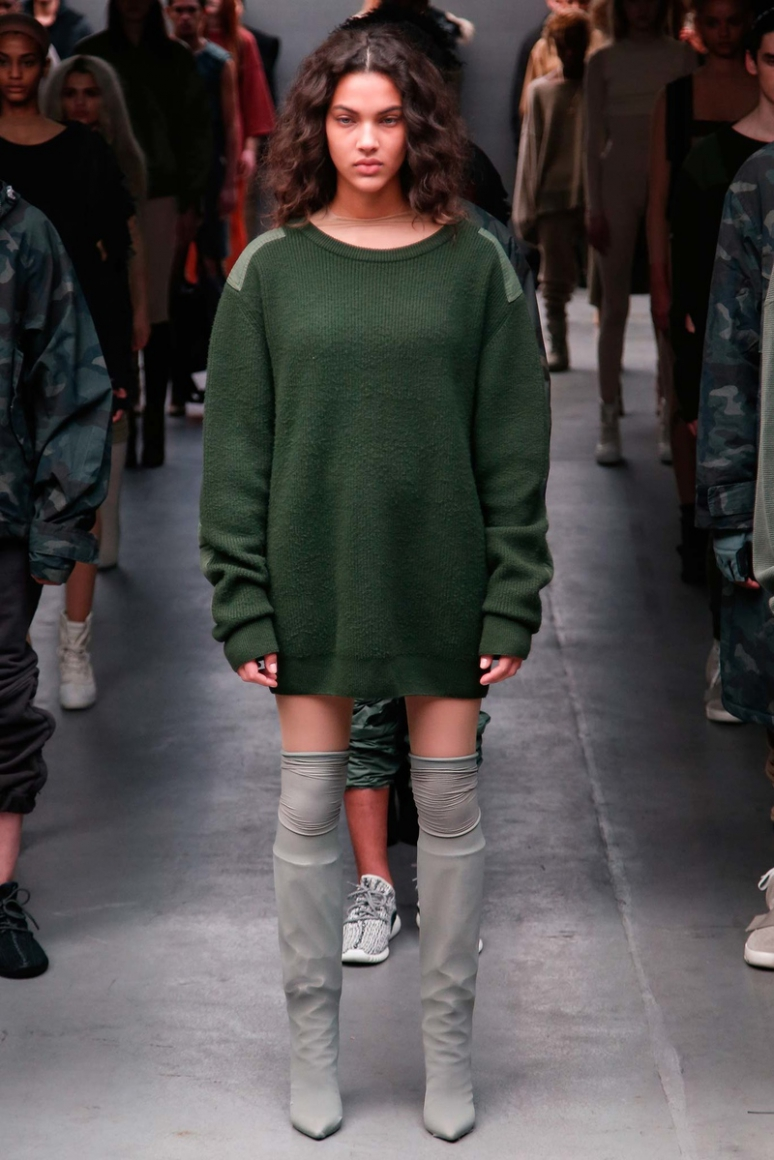 Kanye West x Adidas Originals осень-зима 2015/2016 #2