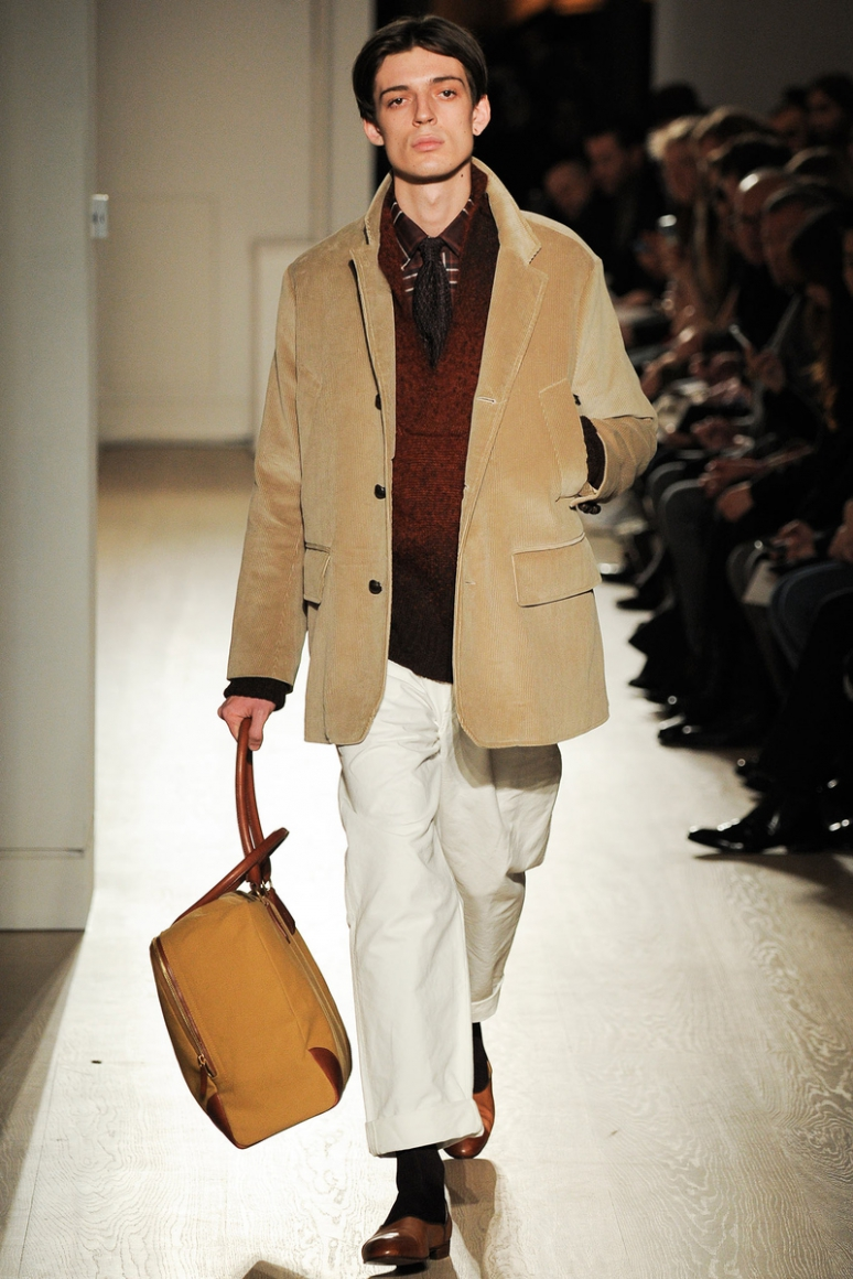 Dunhill Menswear осень-зима 2015/2016 #28
