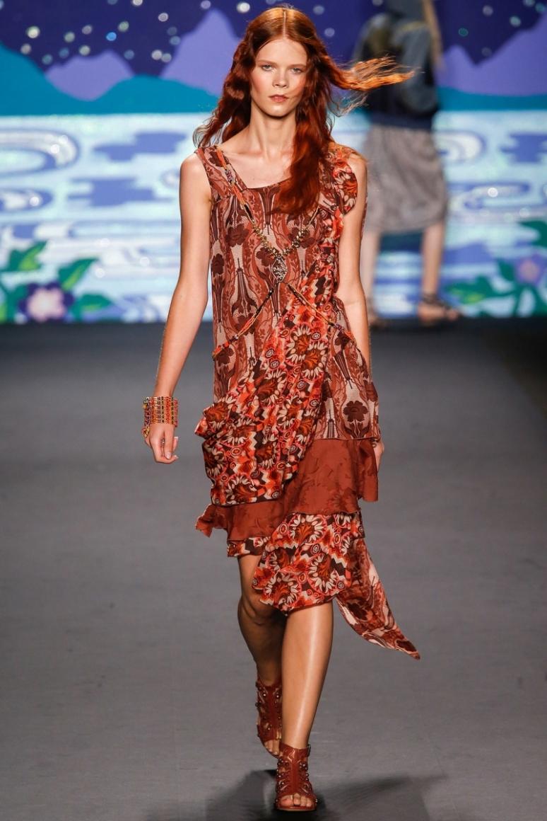 Anna Sui весна-лето 2014 #30