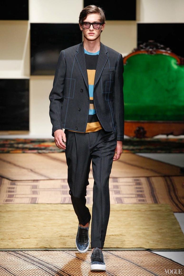 Salvatore Ferragamo Menswear весна-лето 2016 #35