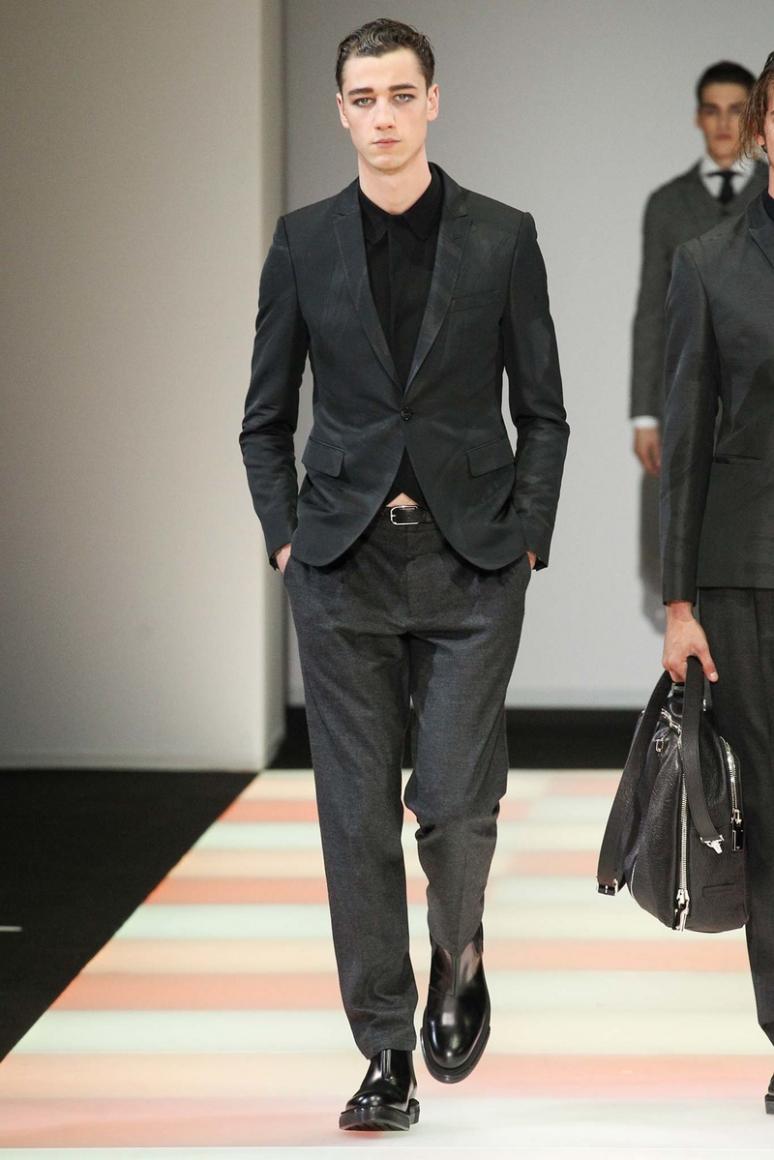 Emporio Armani Menswear осень-зима 2015/2016 #8