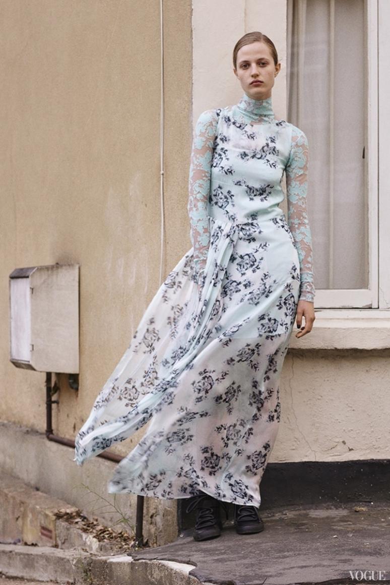 John Galliano Menswear весна-лето 2016 #13