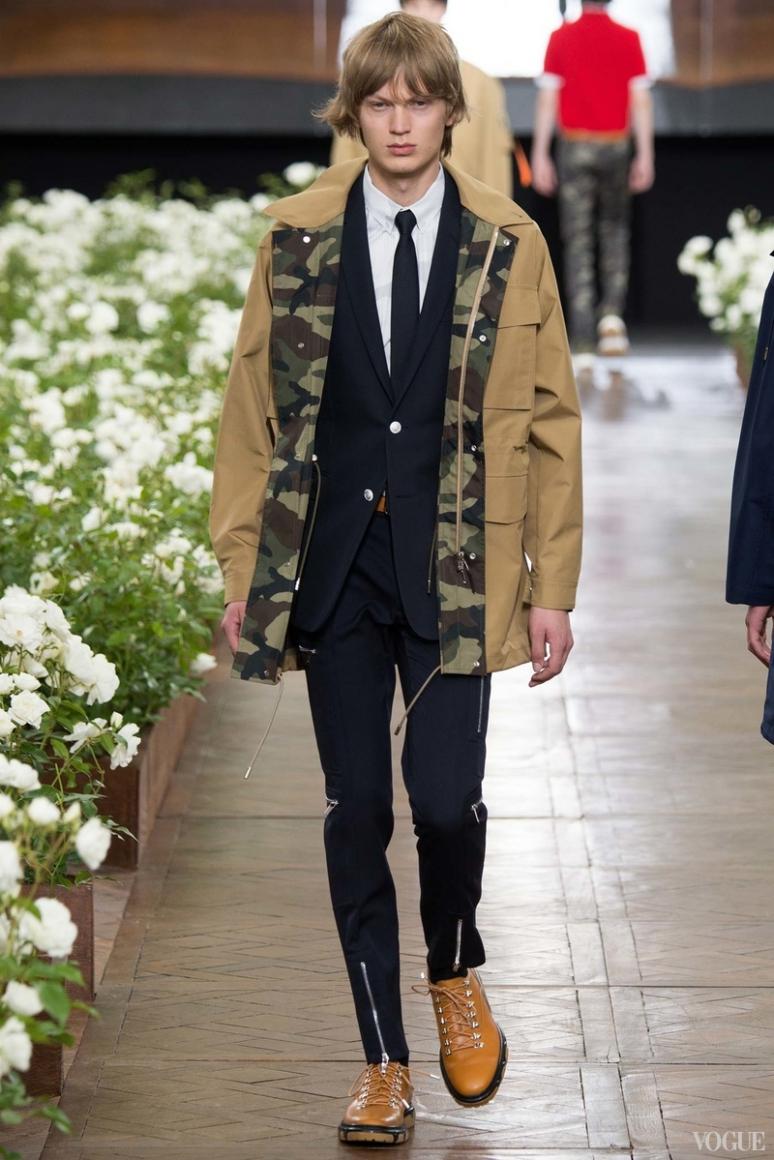 Dior Homme Menswear весна-лето 2016 #26