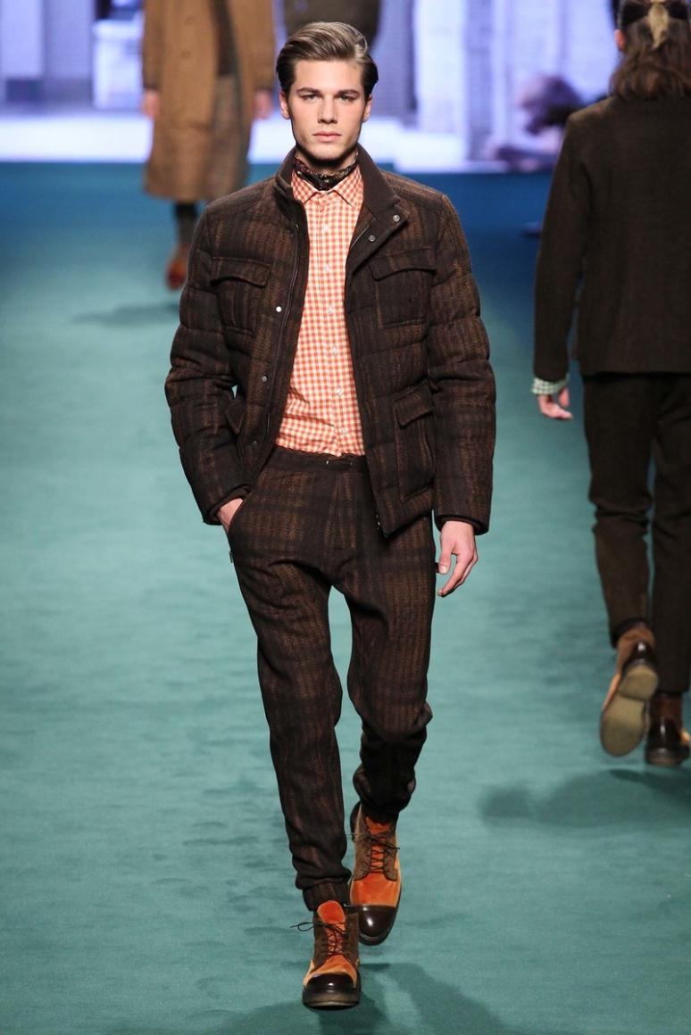 Etro Menswear осень-зима 2015/2016 #23