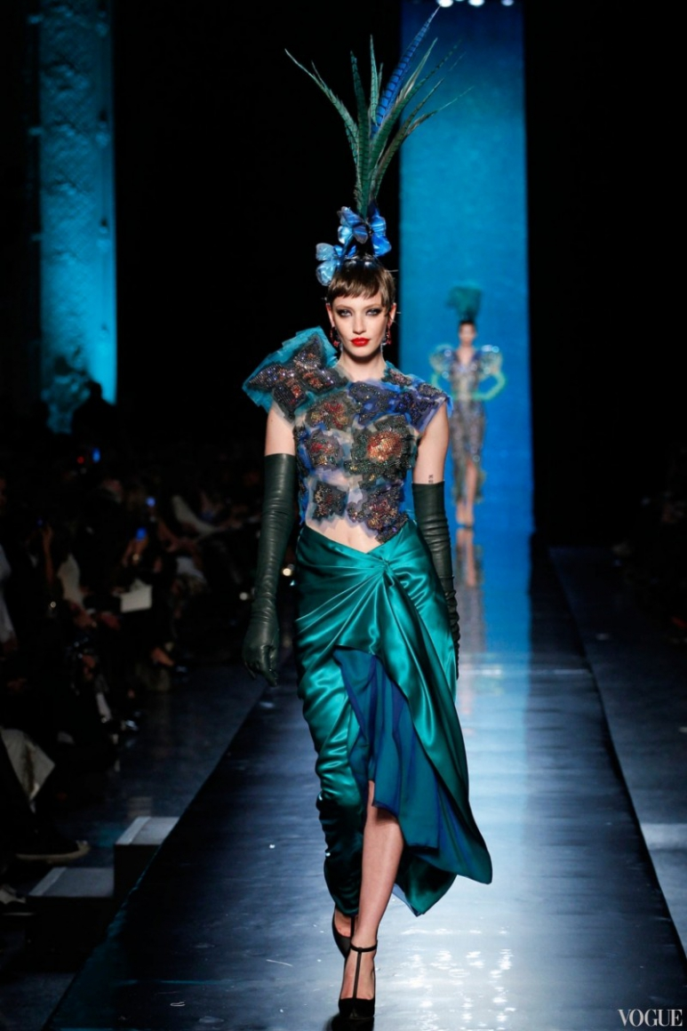 Jean Paul Gaultier Couture весна-лето 2014 #11